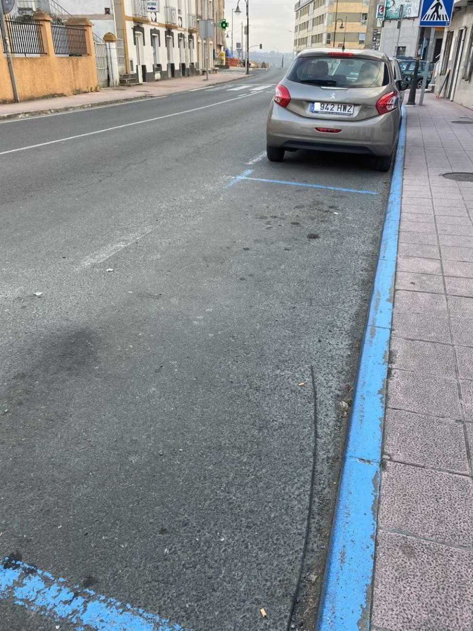 La zona azul de la Porta do Sol entrará en vigor el 1 de agosto - FOTO: Concello Valdoviño