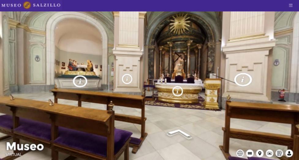 La UCAM colabora en la apertura virtual del Museo Salzillo con un 'Tour 360' inmersivo
