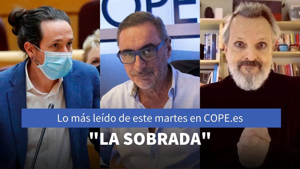 Herrera denuncia los navajazos de la Fiscalía, entre lo más leído de este martes