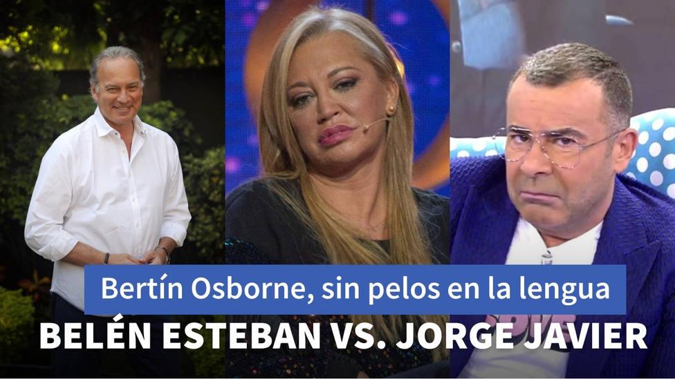 Bertin Osborne cuenta toda la verdad sobre el enfrentamiento entre Belén Esteban y Jorge Javier