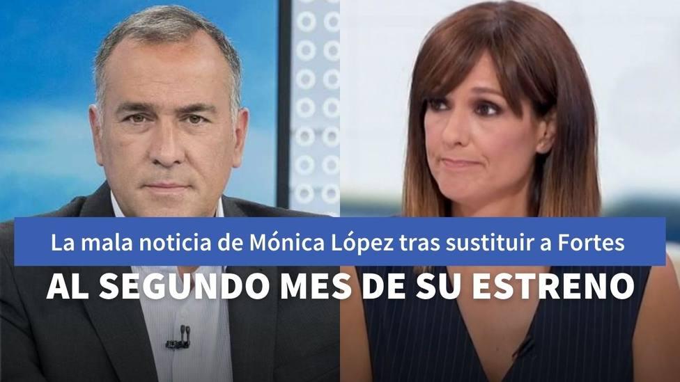 Xabier Fortes y Mónica López