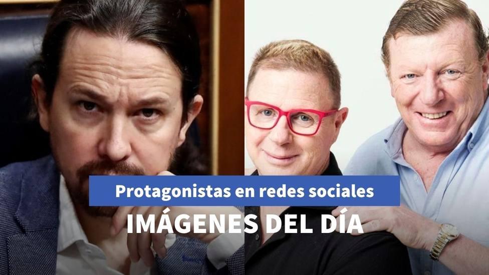 Imágenes del día: la pillada de Iglesias con Bildu y la nueva parodia de Los Morancos