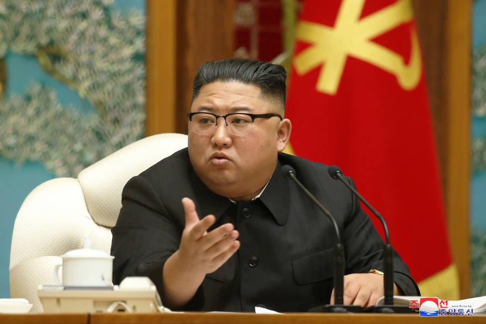 Workers Party of Korea meeting in Pyongyang