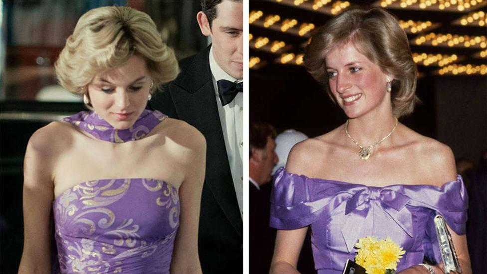 Así es el maquillaje icónico de Lady Di que Emma Corrinluce en la cuarta temporada de The Crown