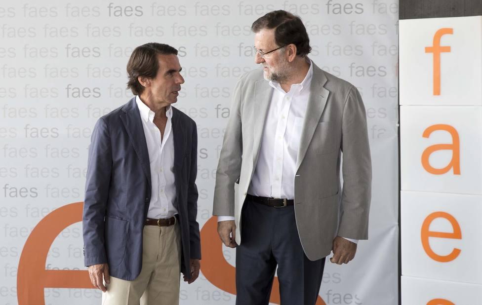 Aznar y Rajoy comparecerán como testigos en el juicio de la caja b el próximo 24 de marzo