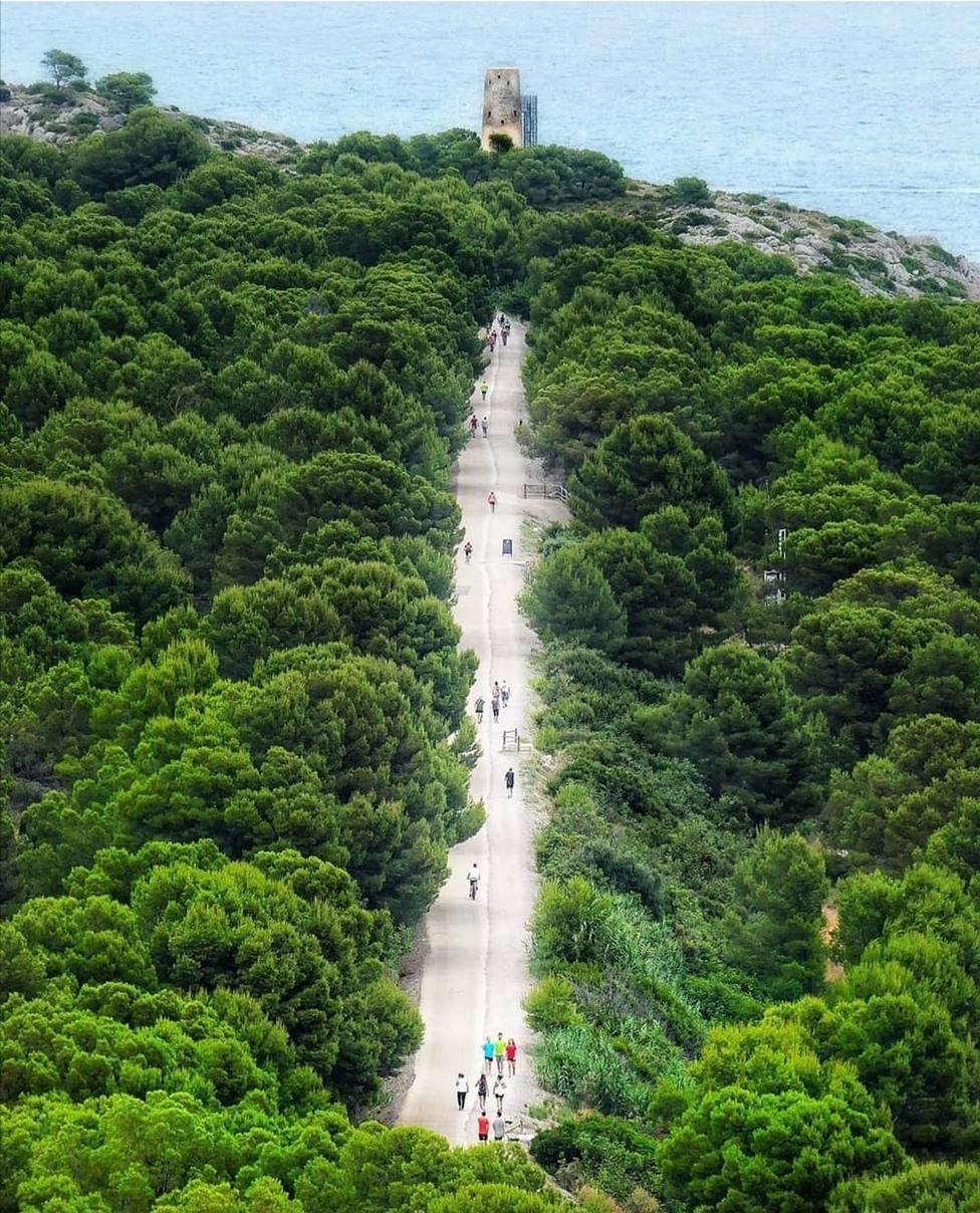 Vía Verde entre Oropesa del Mar y Benicàssim