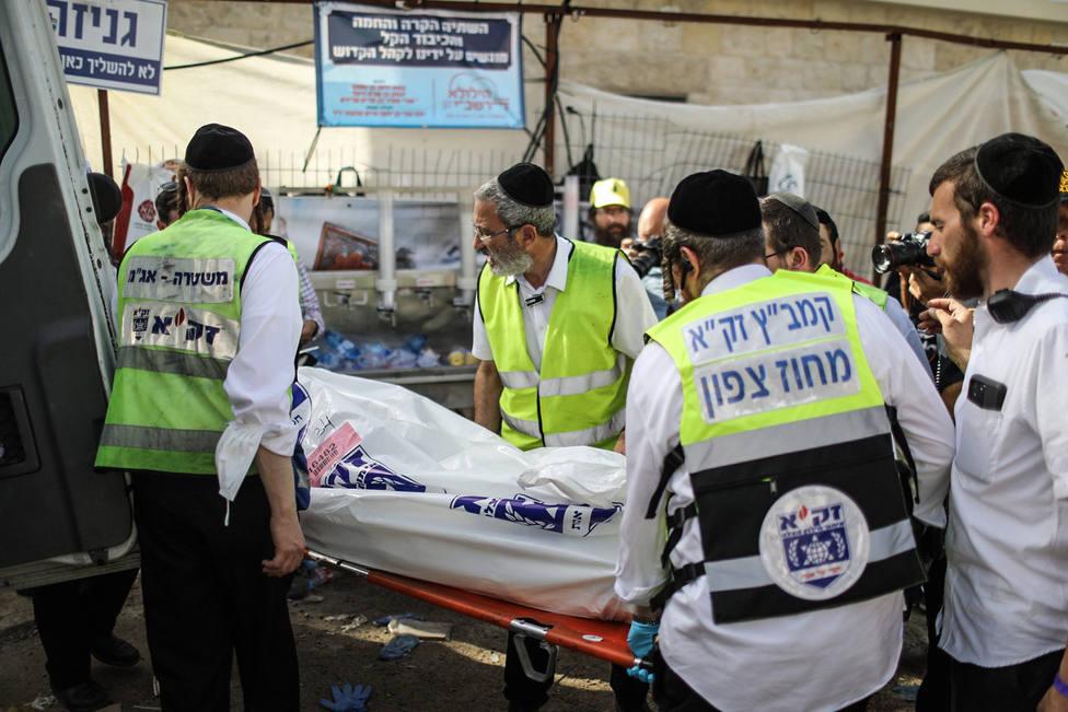 Decenas de muertos en una fiesta religiosa en Israel