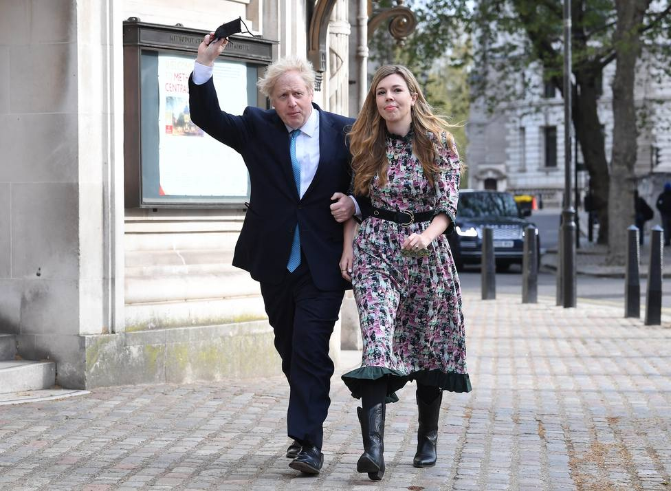 Boris Johnson se casará con Carrie Symonds en 2022