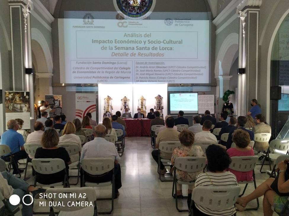 La Semana Santa de Lorca genera 20 millones de euros cada año