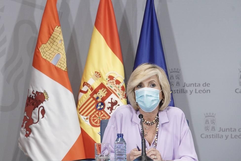 Verónica Casado, consejera de Sanidad de la Junta de Castilla y León