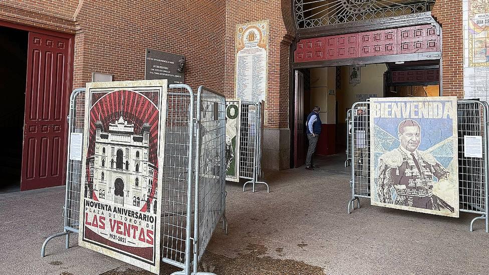 La Puerta Grande de Las Ventas acoge la exposición de Pablo Cobos