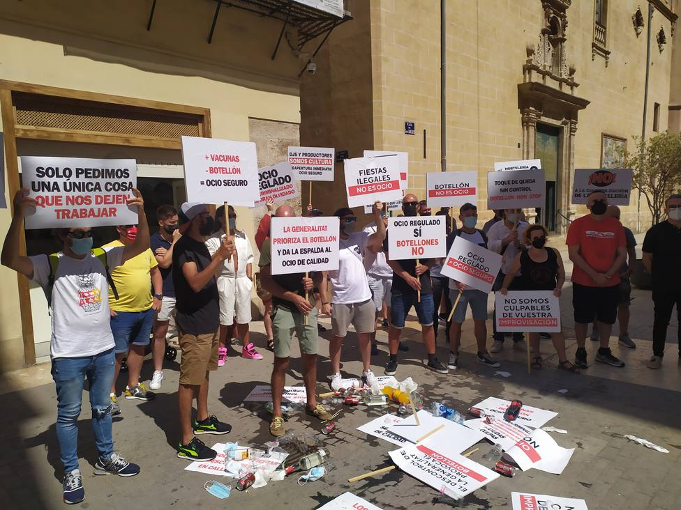 Protesta hostelería
