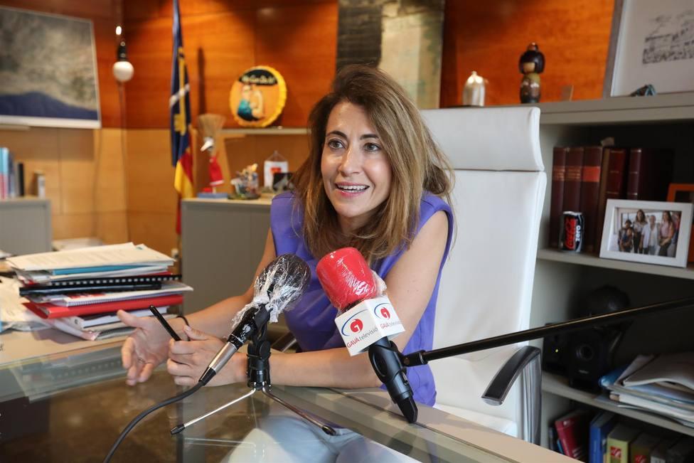 La nueva ministra de Transportes, Raquel Sánchez Jiménez