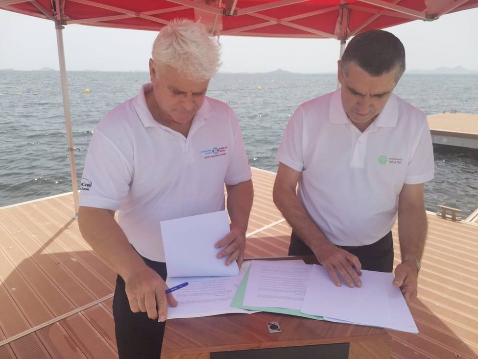 Fundación Ingenio firma un convenio con la Federación de Vela para la promoción de este deporte en la Región de Murcia