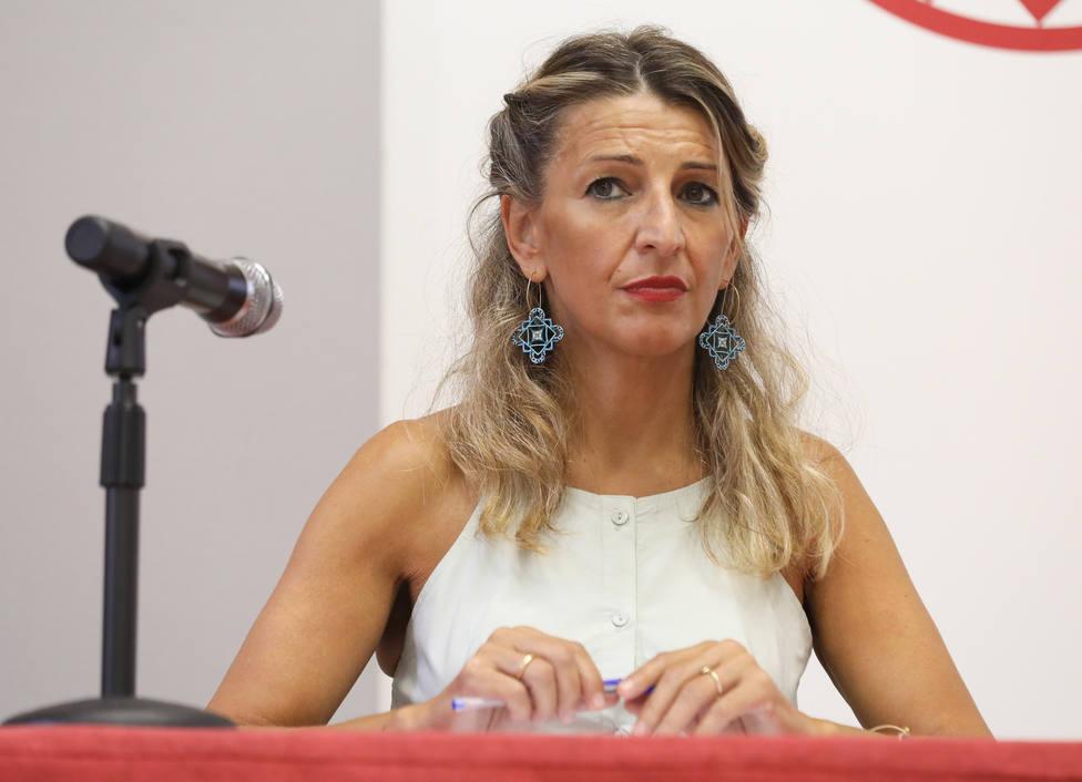 Yolanda Díaz avanza cambios fuertes en los ERTE y una prórroga más allá de diciembre
