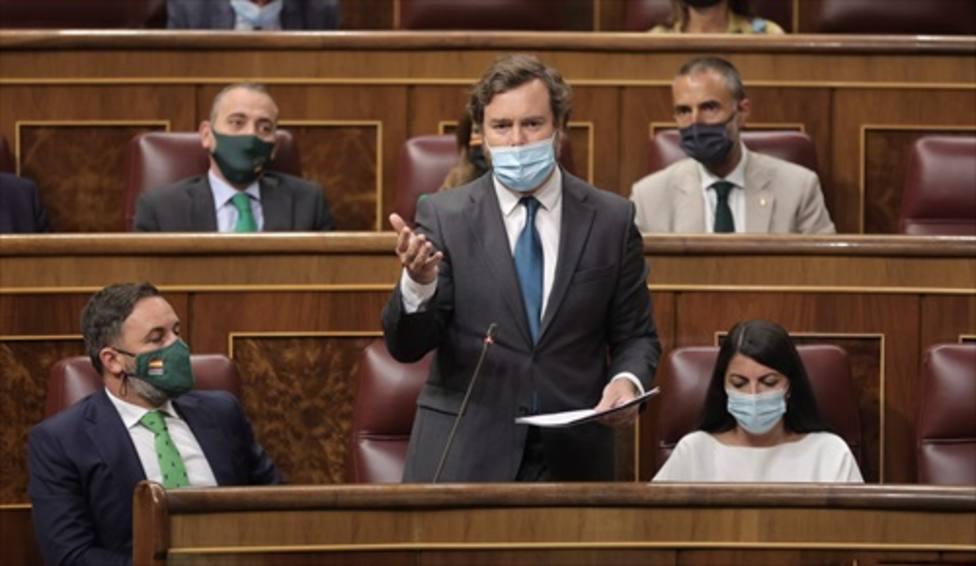 Vox pedirá mañana en el Congreso que se incluya a Ceuta y Melilla bajo la protección de la OTAN