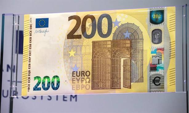 Nuevo billete de 200 euros