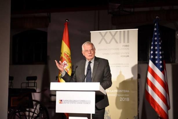 Borrell subraya la importancia de la relación trasatlántica en la inauguración del Foro España-EEUU en Jerez