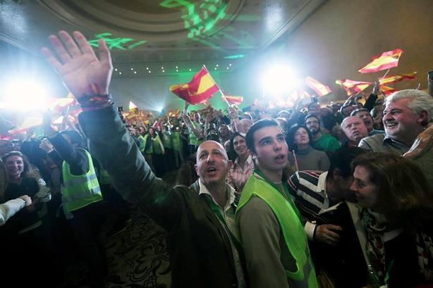 Un exlíder del Ku Klux Klan se hace eco del triunfo de Vox en Andalucía
