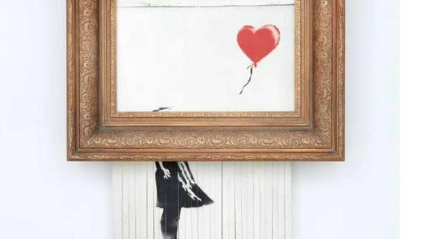 La compradora de la obra de Banksy que se autodestruyó confirma su adquisición: Tendré mi pieza de historia del arte