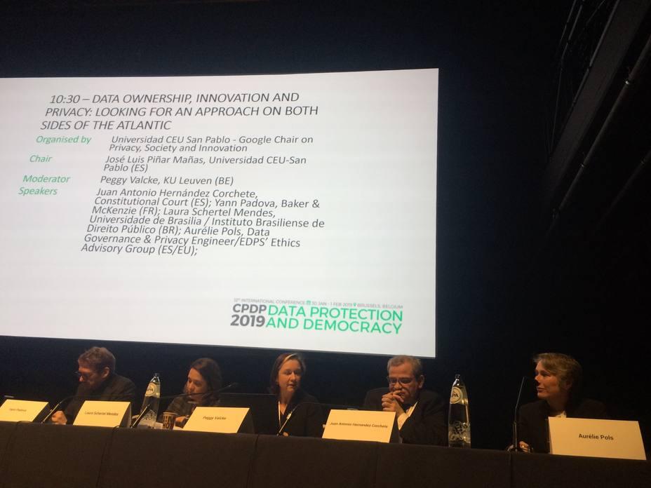 La Cátedra Google de la Universidad CEU San Pablo participa en la Conferencia Internacional sobre privacidad en Bruselas