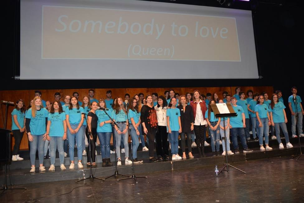 350 alumnos participan en el encuentro de coros escolares 'Cantemus' en Águilas