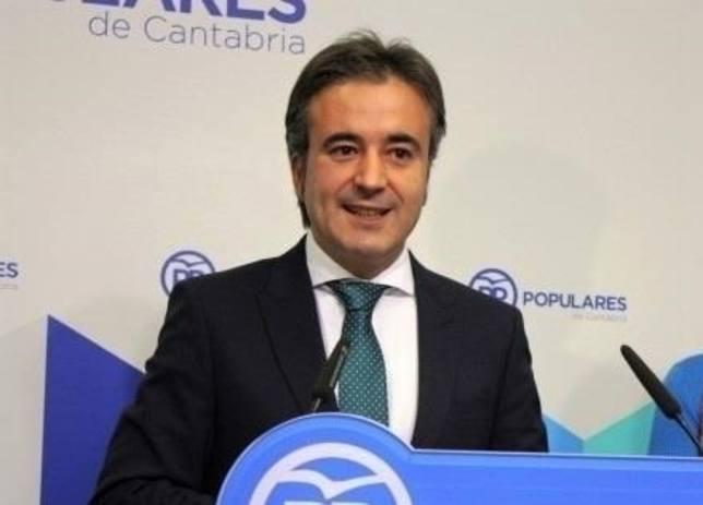 Diego Movellán, cabeza de cartel del PP de Cantabria al Congreso de los Diputados