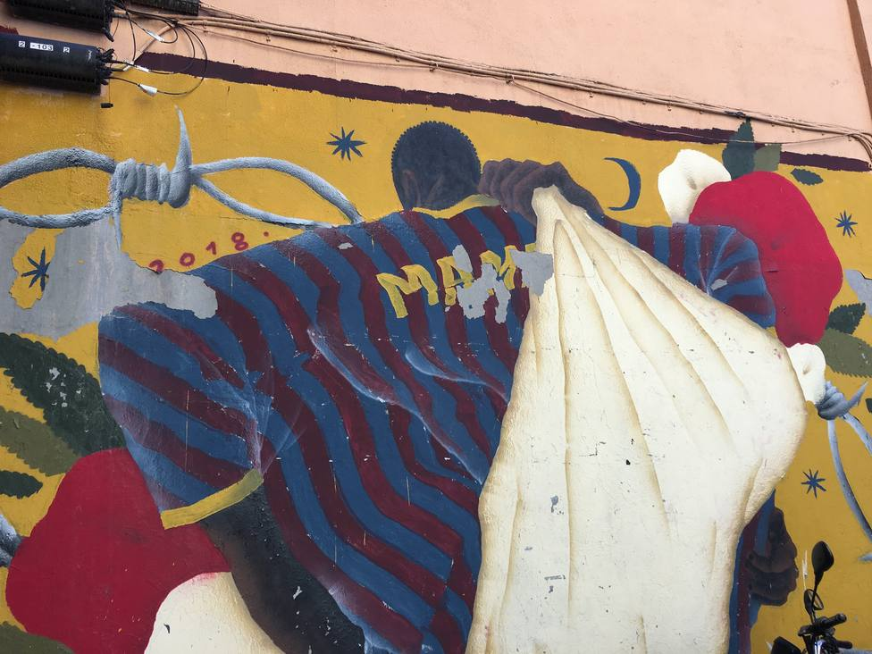 Lavapiés llora al mantero Mame Mbaye un año después