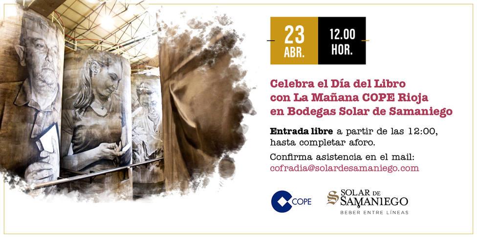 #BeberEntreLíneas, COPE Rioja desde Bodegas Solar de Samaniego