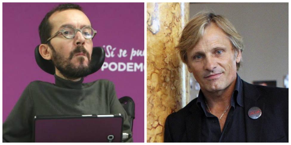 A Echenique le sale el tiro por la culata su defensa a Viggo Mortensen