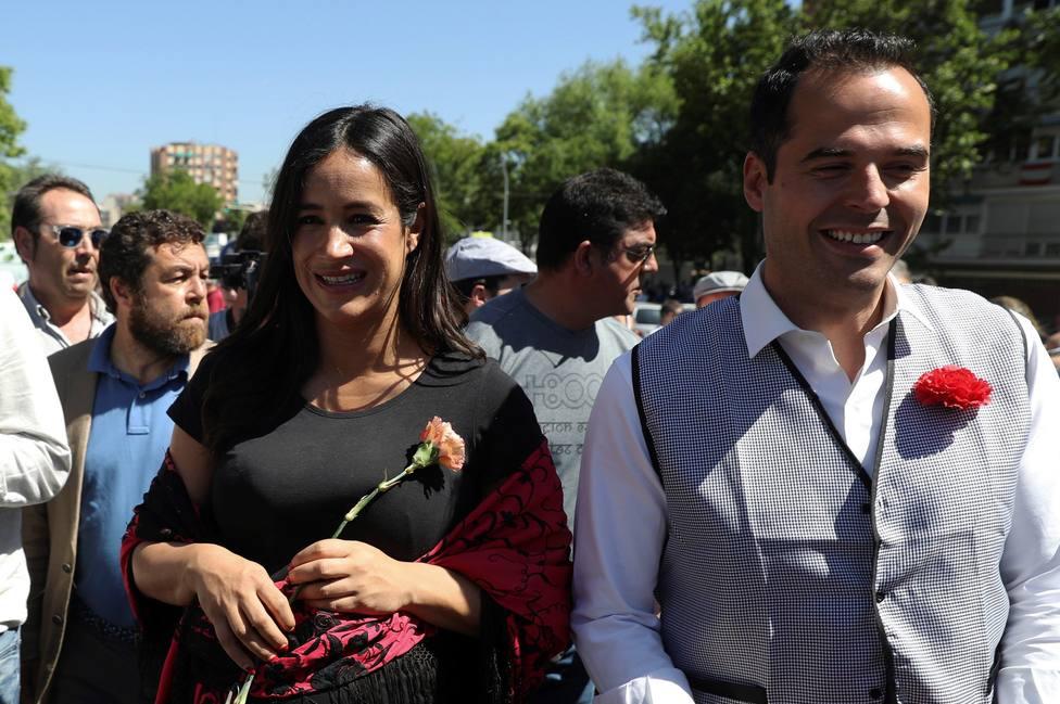 Candidatos de Ciudadanos en la Pradera de San Isidro.