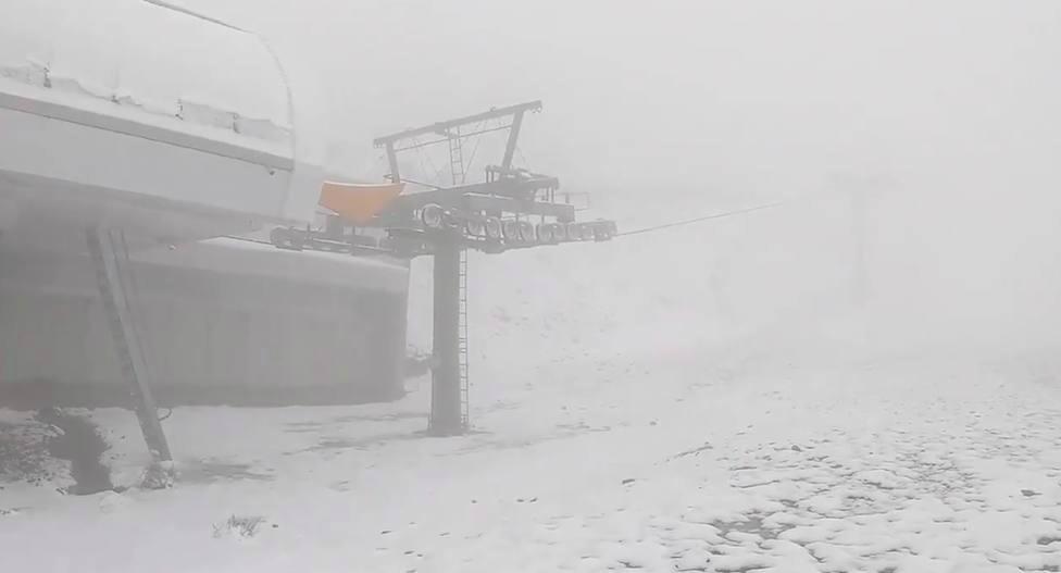 Esta nevando en Valdezcaray