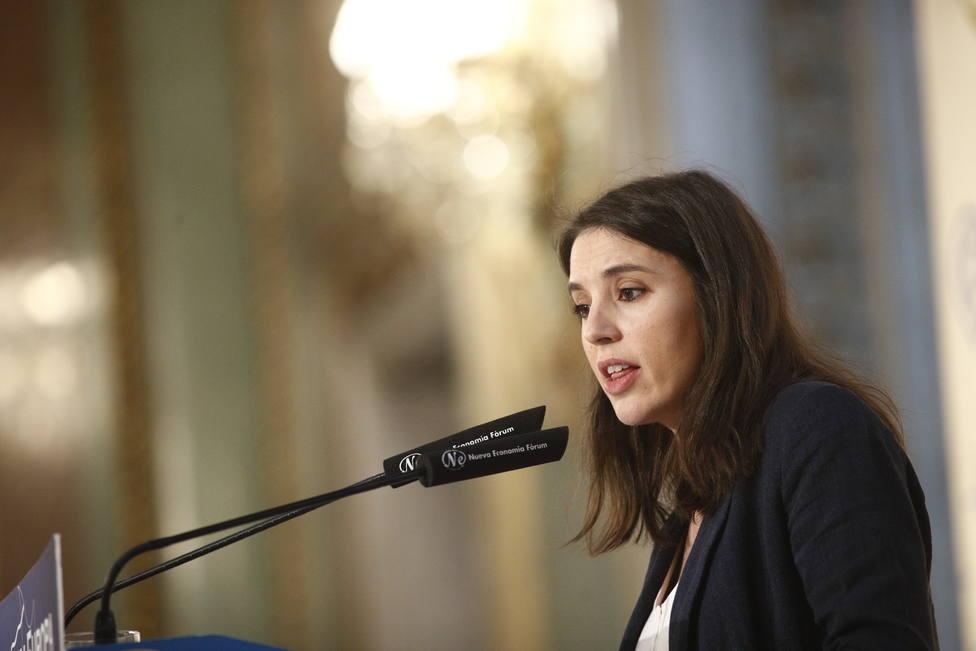 Montero se muestra optimista sobre la negociación con el PSOE para lograr un gobierno de coalición