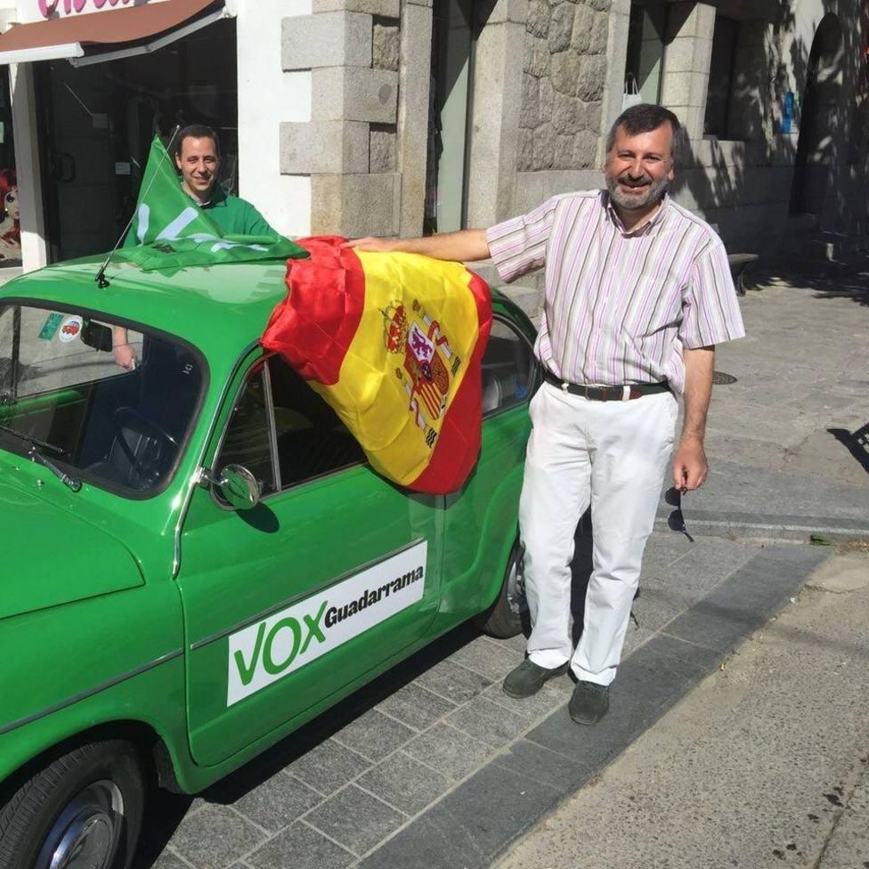 Donato Barba, coordinador comarcal de VOX