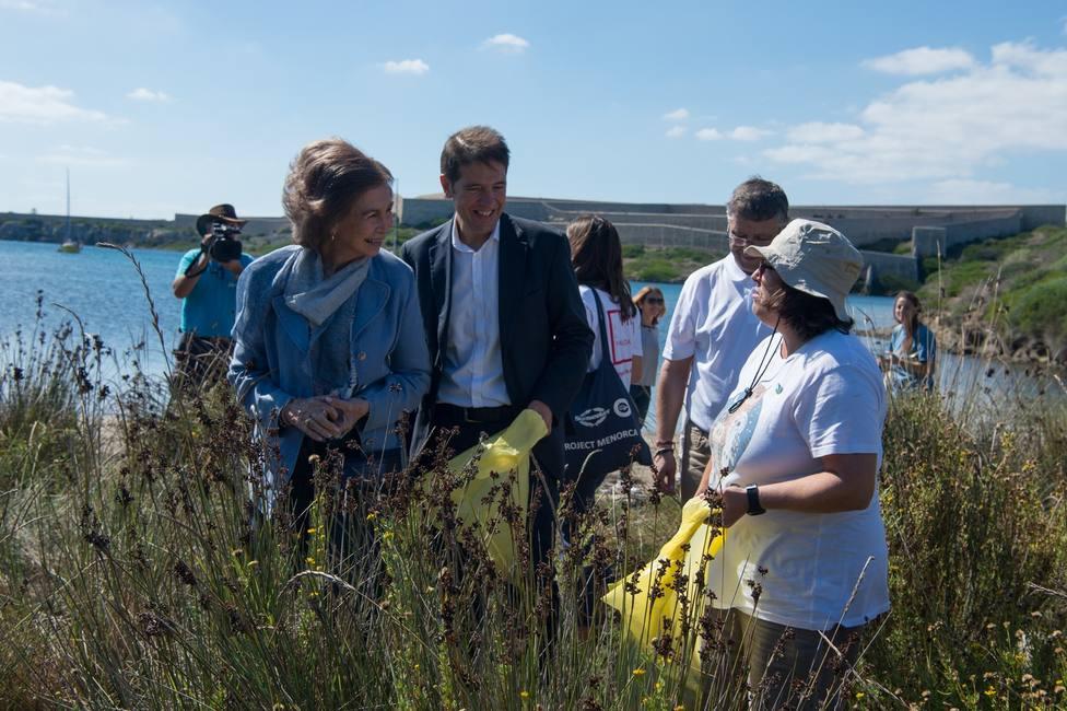 La Reina Sofía participa en el proyecto Libera
