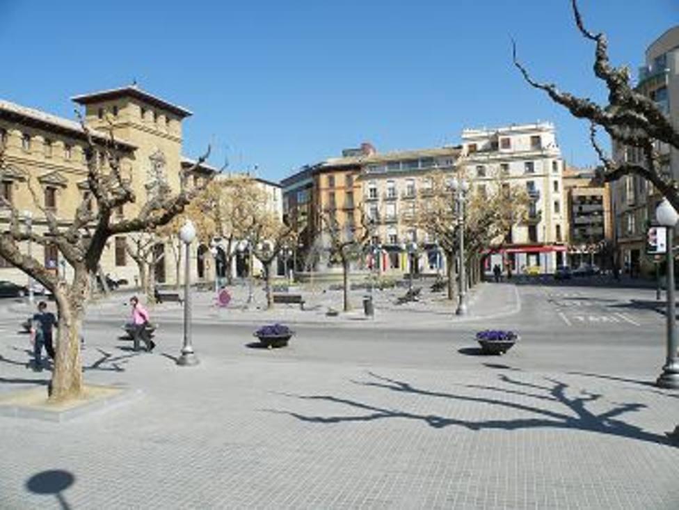 Plaza de Navarra de Huesca