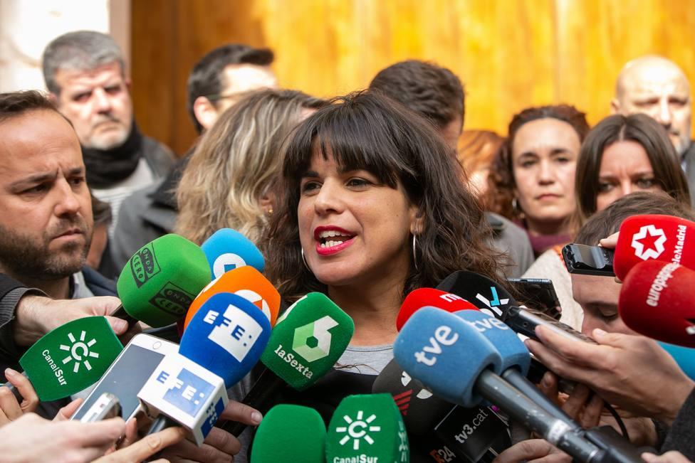 Teresa Rodríguez ve un insulto a víctimas en definir la muerte de Blas Infante como fallecimiento por fusilamiento