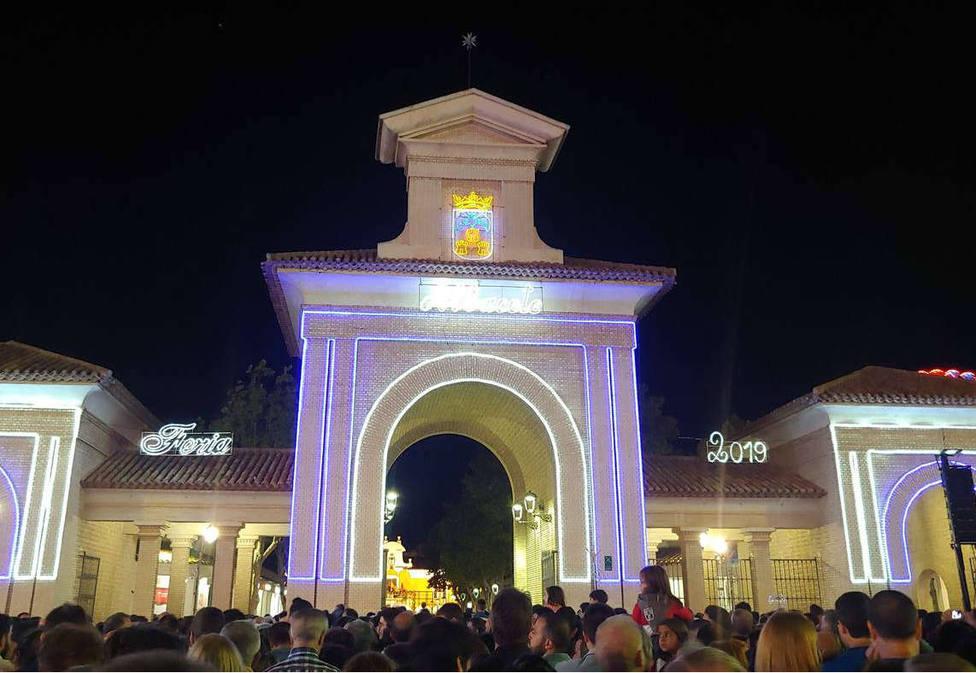 Puertas de Hierros durante la Feria 2019