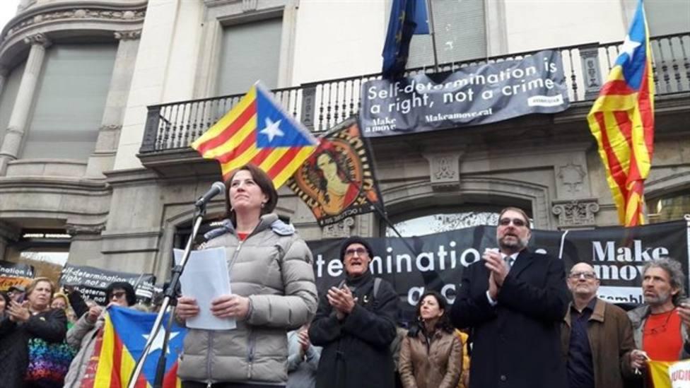 La ANC llama a la movilización insta a la ciudadanía catalana salga inmediatamente a la calle