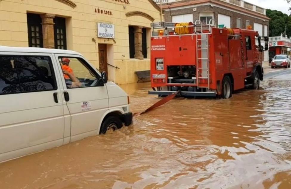 Activada la pre emergencia de los servicios de Cartagena ante el aviso amarillo por la DANA