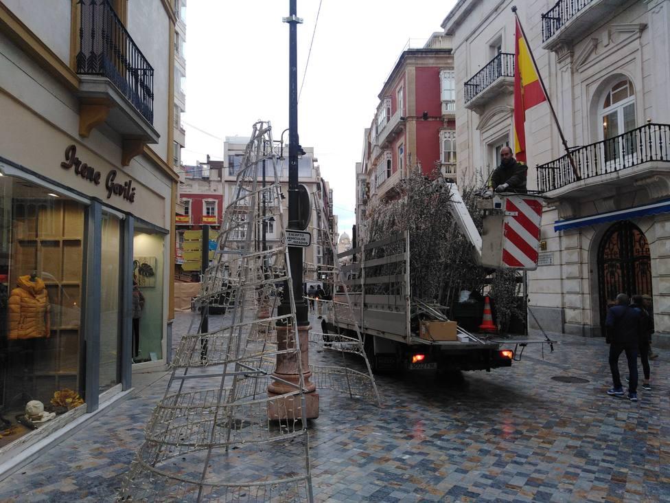 Este jueves se encenderá la iluminación navideña en Cartagena