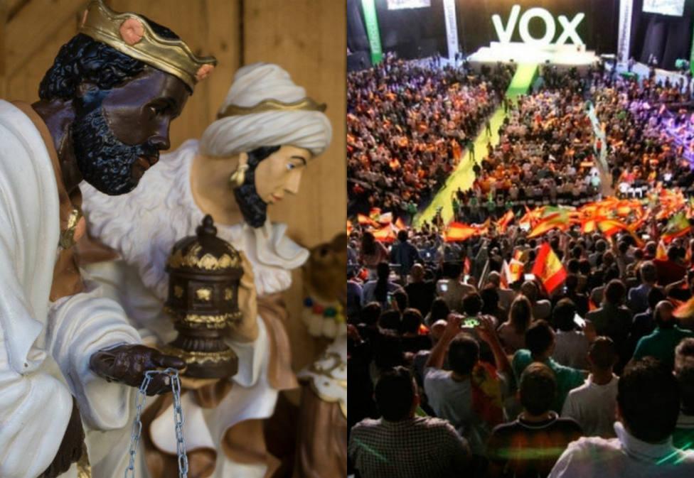 Vox Cádiz se olvida de Baltasar en su felicitación navideña y desata las críticas de las redes