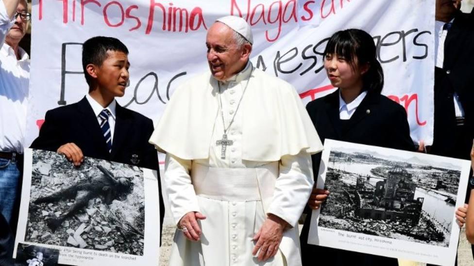 La enérgica condena al uso de armas nucleares marcó la visita del Papa a Japón