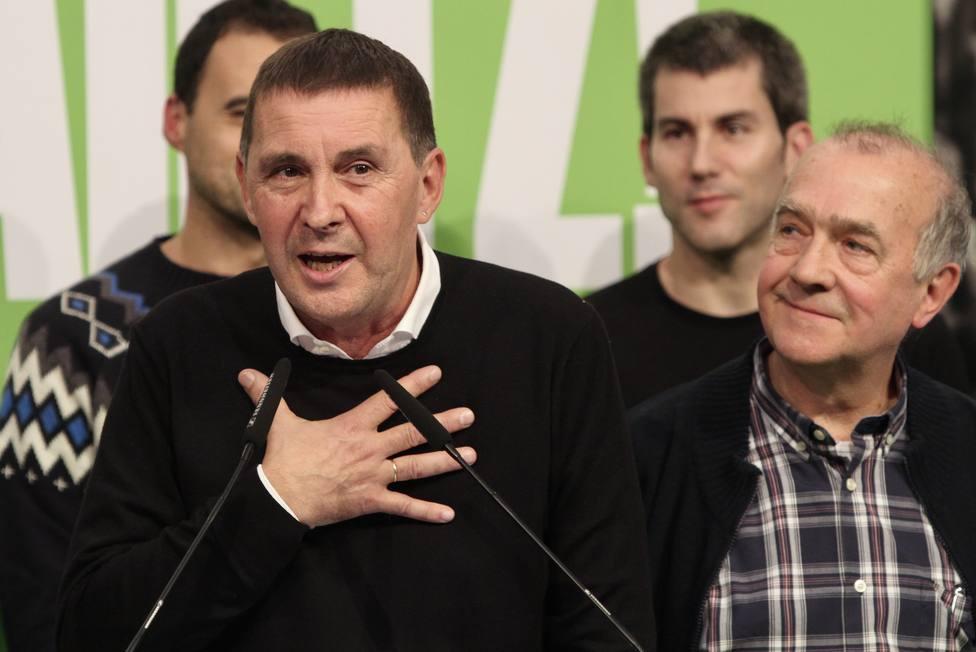 Otegi pide a Gobierno Vasco que no haga propaganda política con presos e insta a una solución sin levantar ampollas