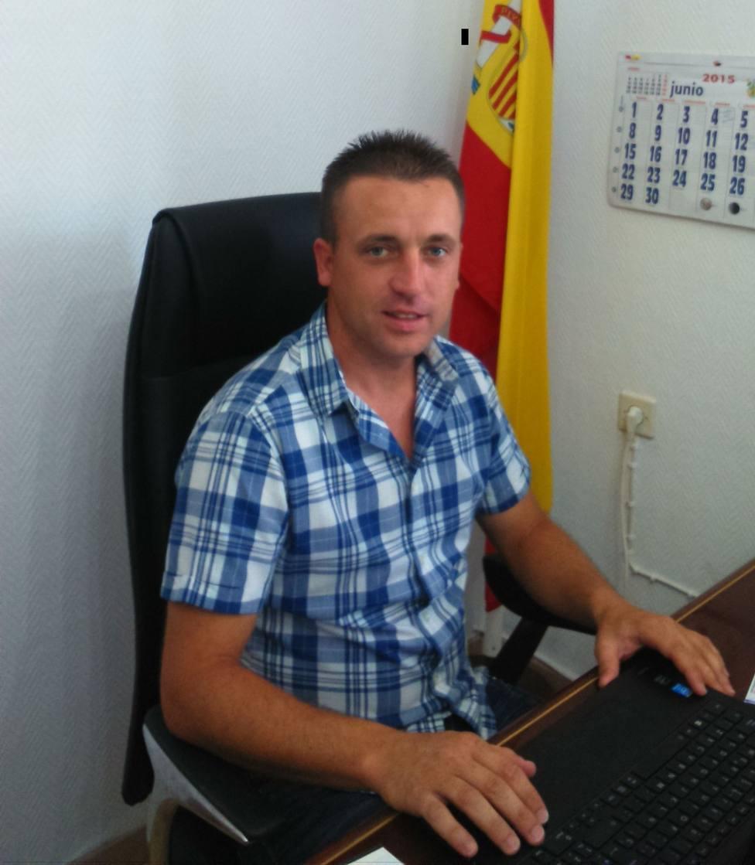 José Pedro Rodriguez (PSOE) alcalde de Riolobos en Cáceres. Foto: Ayto de Riolobos