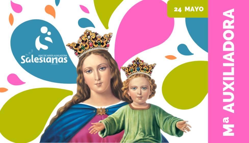 Los salesianos preparan la fiesta de María Auxiliadora con actos virtuales y presenciales
