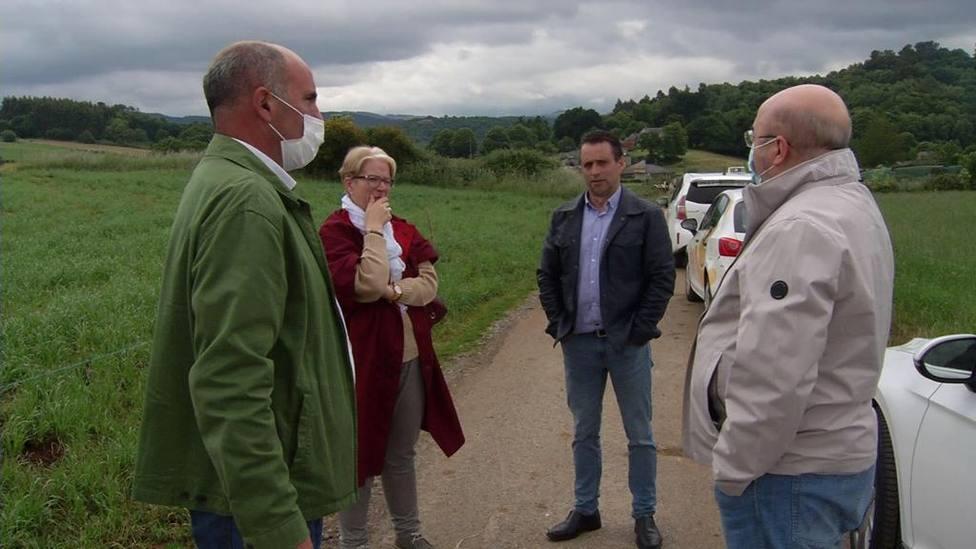 Castroverde impulsa un programa pionero en Galicia para reagrupar tierras agrarias