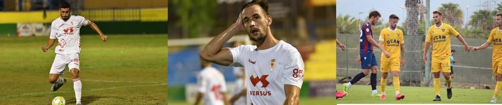 El Real Murcia CF y UCAM Murcia perfilan su puntería