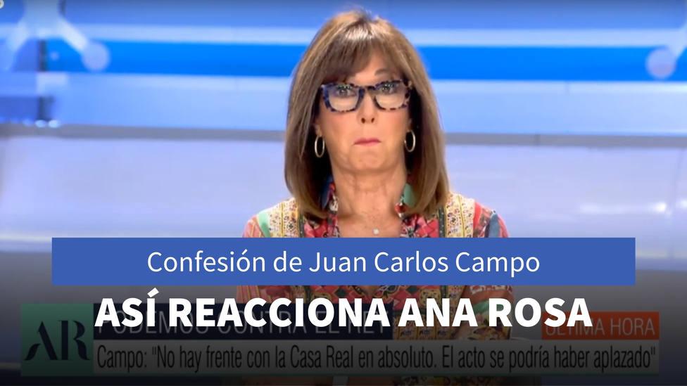 La confesión del ministro de Justicia que ha dejado a Ana Rosa con esta cara