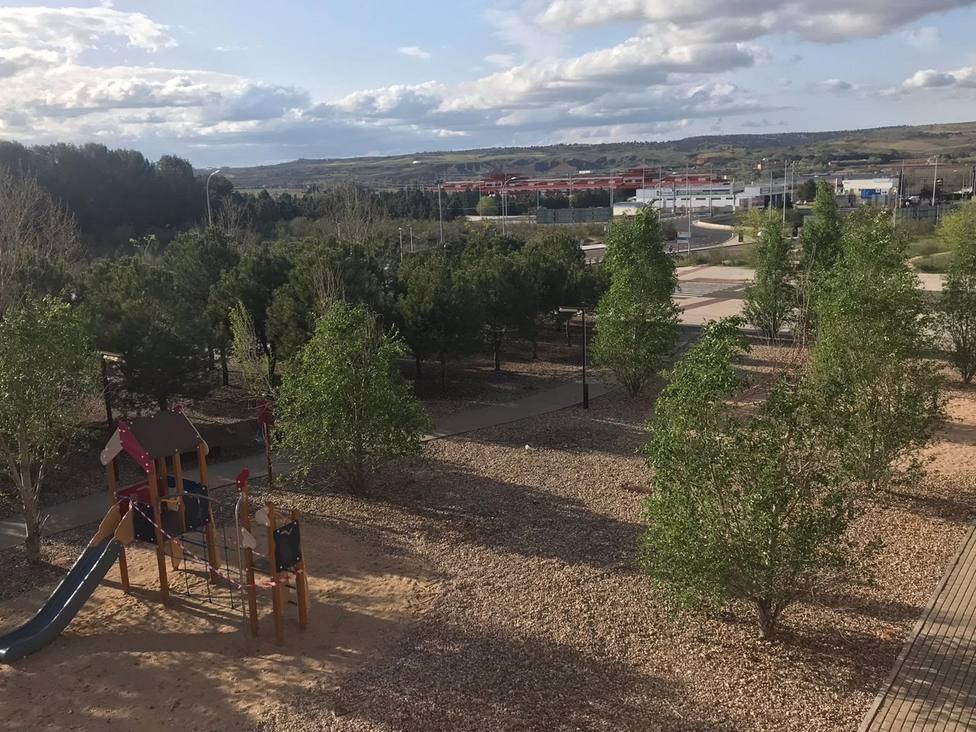 El Ayuntamiento de Toledo cierra varios parques por el aviso de rachas de viento muy fuerte